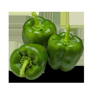 Morron pimiento verde x 500 gramos