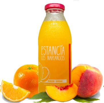 Jugo natural sabor Durazno con naranja - 500 cc