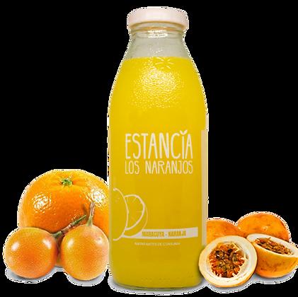 Jugo natural sabor Maracuya con naranja - 500 cc