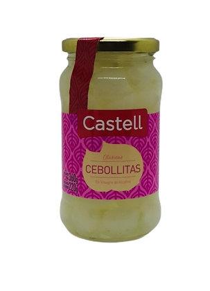 Cebollitas En Vinagre CASTELL Frasco 360 Gr