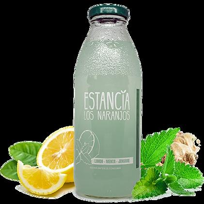 Jugo natural sabor Limon, menta y jengibre - 500 cc
