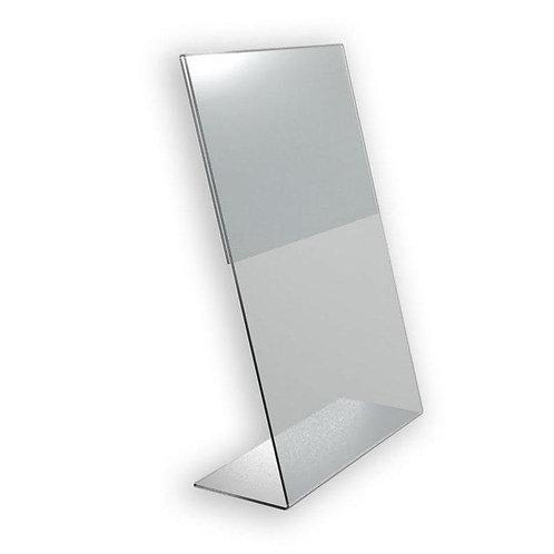 Зеркало плоское с подставкой и экраном