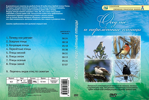 DVD Оседлые и перелётные птицы