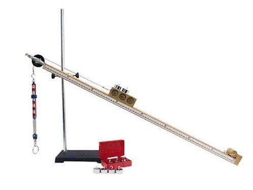 Трибометр демонстрационный с измерителем угла наклона