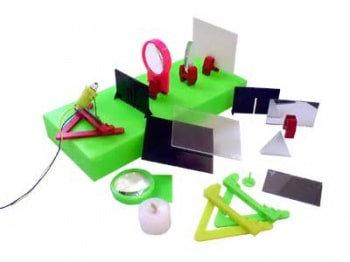 Лабораторный набор по геометрической оптике