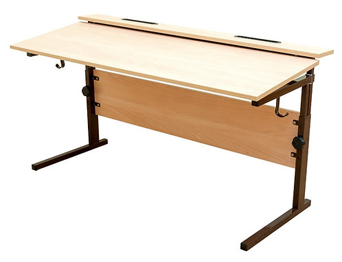 Стол ученический двухместный, регулируемый по высоте (р.гр. №2-4, №3-6) и наклон