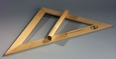 Угольник классный деревянный УКЛ-45