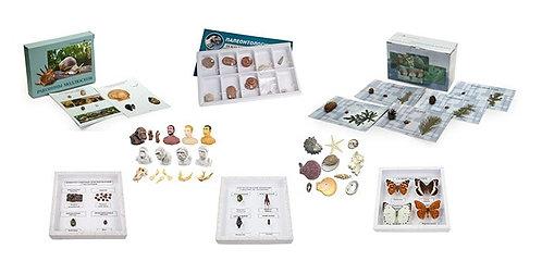 Комплект коллекций демонстрационный (по разным темам курса биологии) (10 шт.)