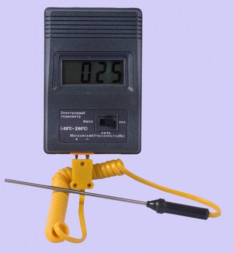 Термометр электронный (-50 +200)