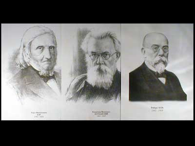 Портреты биологов (26 шт, ф А3)