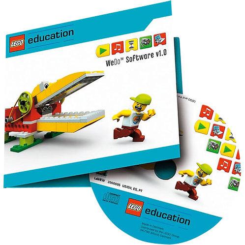 ПервоРобот LEGO WeDo.ПО.Комплект интерактивных заданий. Книга/учит.Win&Mac.CD/