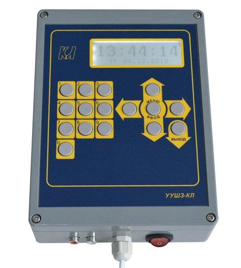 Устройство управления школьным звонком УУШЗМ-КЛ-П (mp3), промышленный дизайн