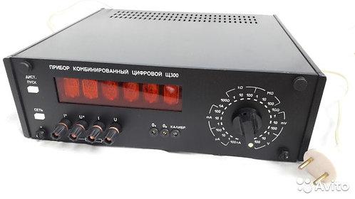 Комбинированный цифровой-аналоговый прибор на панели