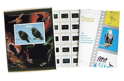 Слайд-альбом Птицы (100шт)