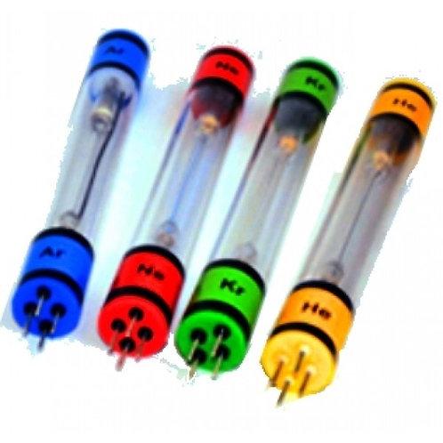 Лабораторный набор спектральных трубок (неон, гелий) с источником питания