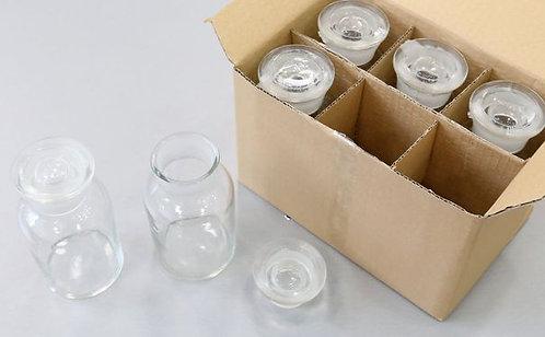 Набор флаконов из стекла (6 шт.)