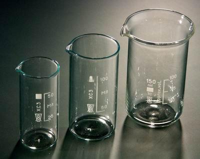 Стакан высокий 100 мл. со шкалой (стекло)