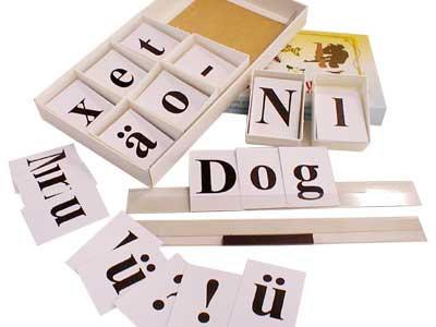 Касса букв для изучения иностранного языка (Ламинированная, с магнит.креплением)