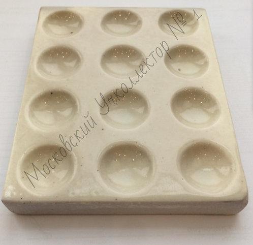 Пластина керамическая для капельного анализа