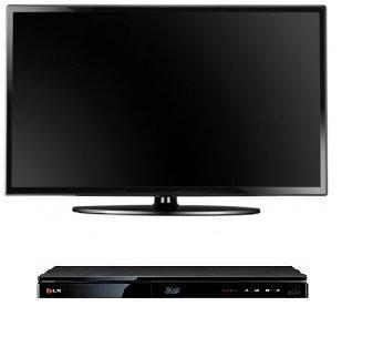 "Телевизор LED - ЖК диагональ 32"" (81,2 см.) + DVD плеер"