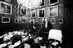 The Garrick club, a lunch