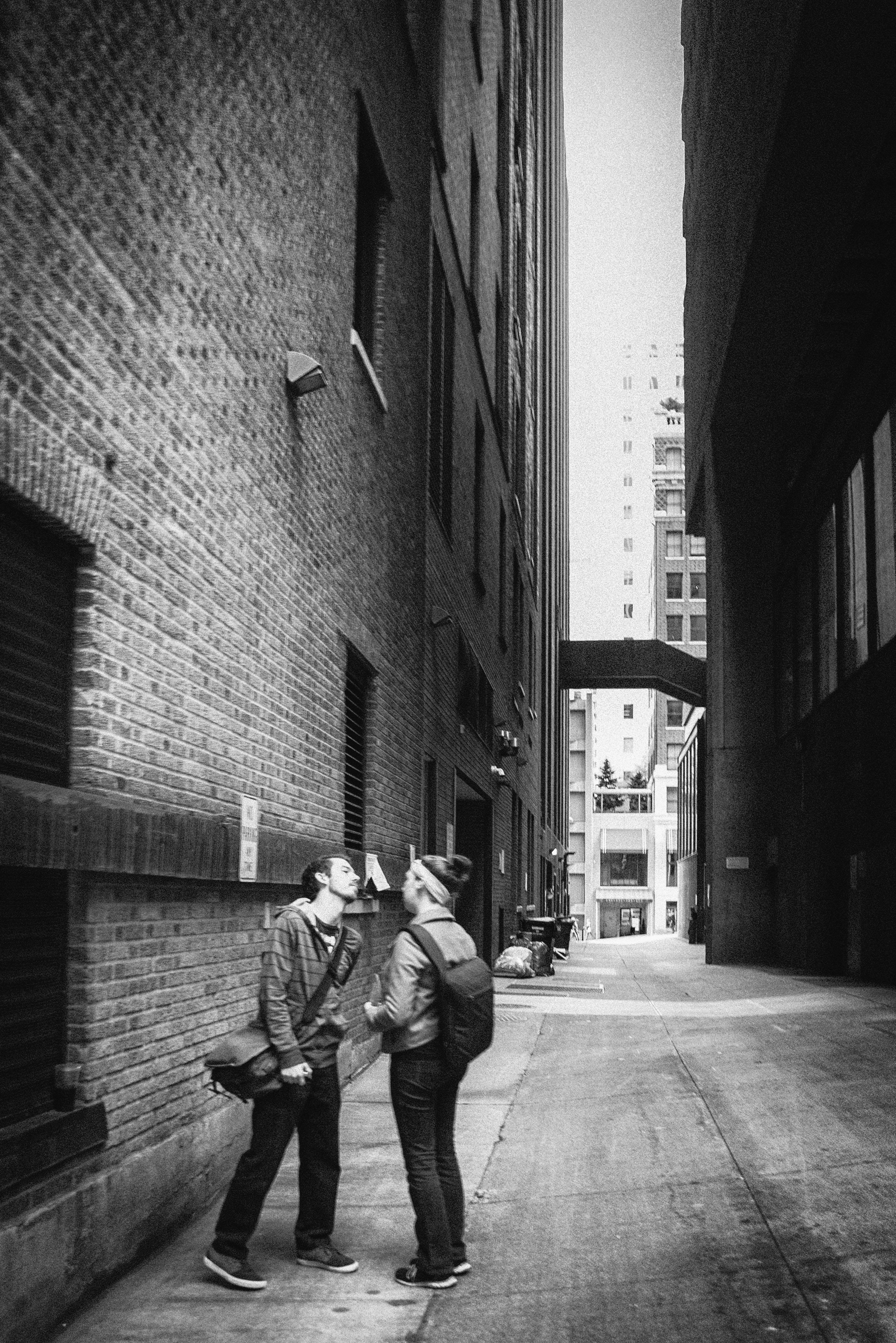 Seattle alley argument