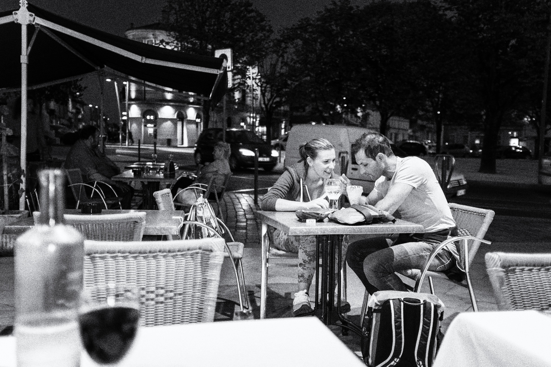 Bordeaux late evening