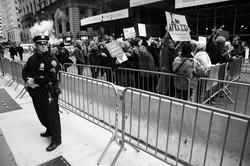 Demonstration @ Trump Towers