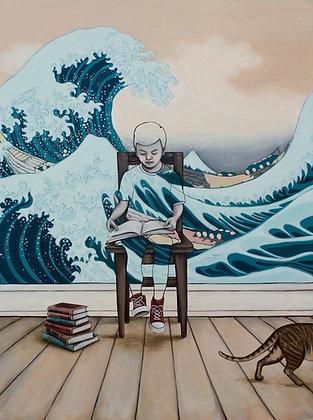 Lost At Sea - Limited Edition Fine Art Print