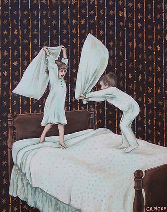 Pillow Fight At Grandma's House - Limited Edition Fine Art Print