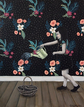 Watering The Wallpaper - Limited Edition Fine Art Print