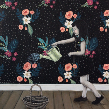 Watering The Wallpaper