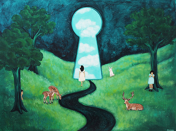 Hide and Seek In Keyhole Valley