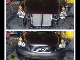 Infiniti in progress