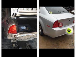 rear end repair on Chevy Malibu