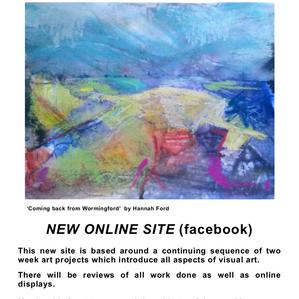 I'm hosting online art courses, join us.