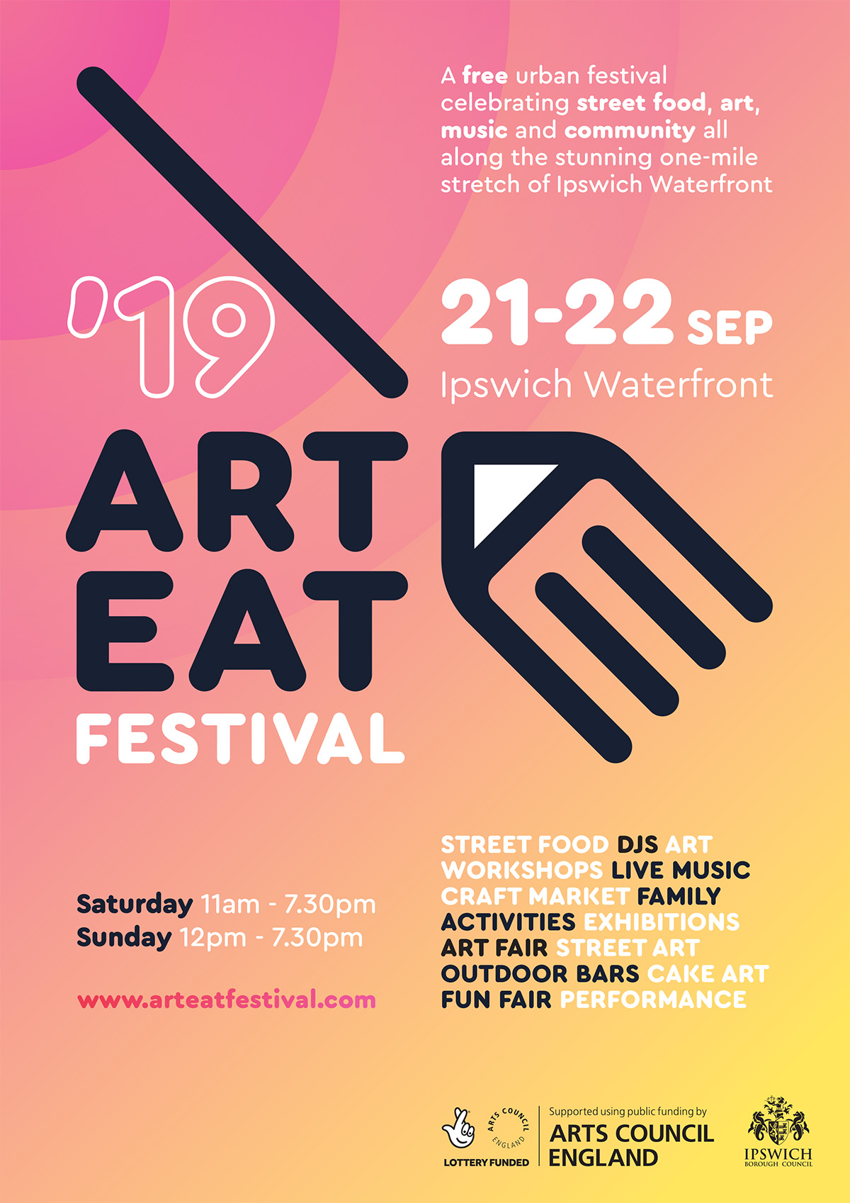 Art Eat Digital Flyer
