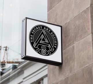 Logo Design for The Secret Art Society.j