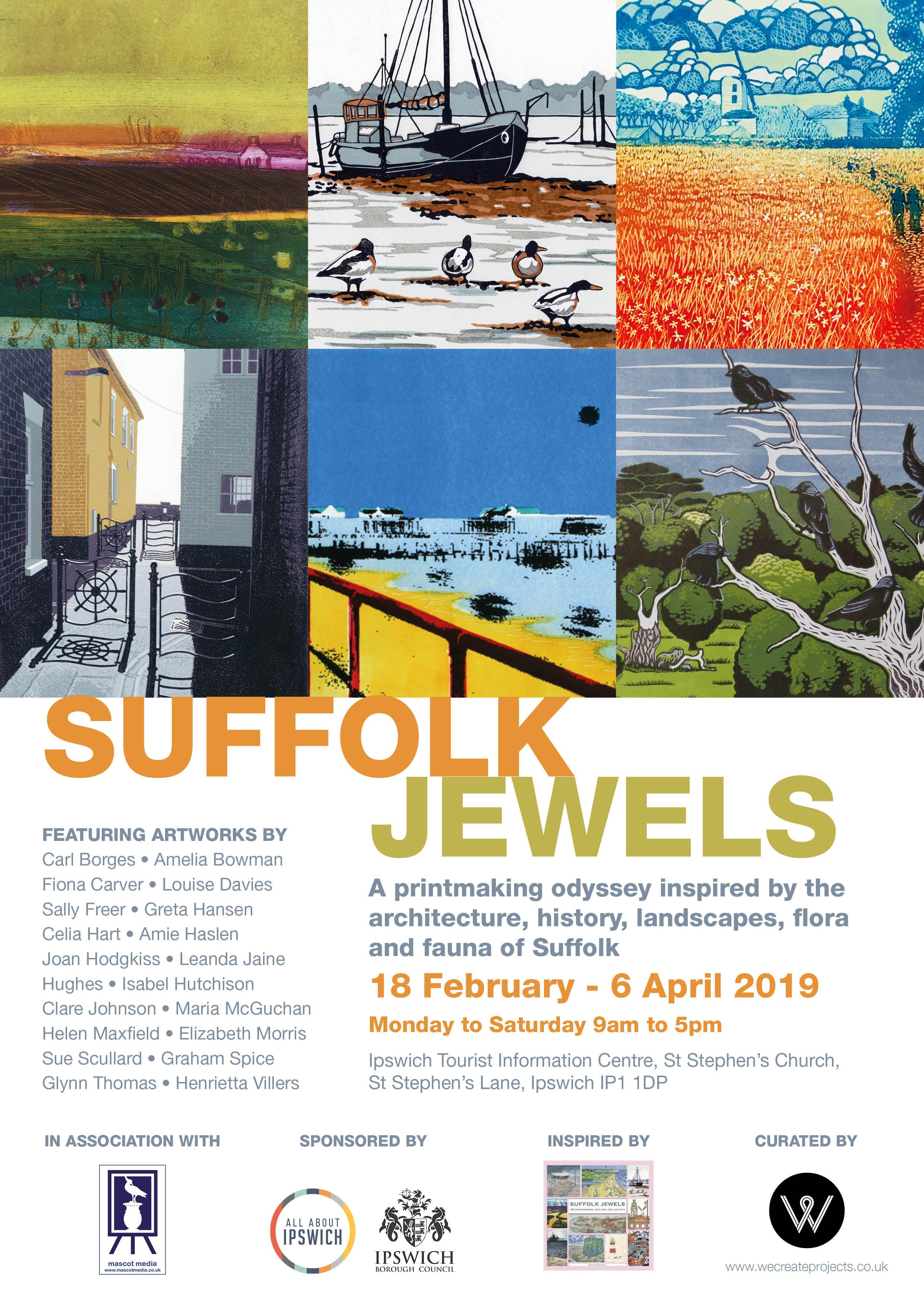suffolk jewel poster