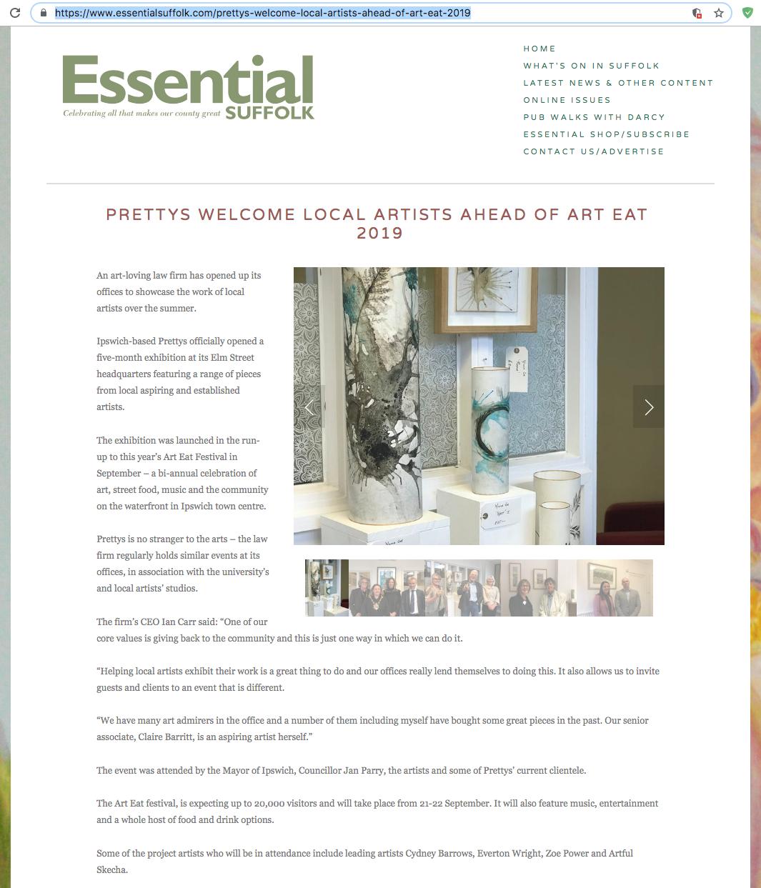 Essential Suffolk - Prettys show 1