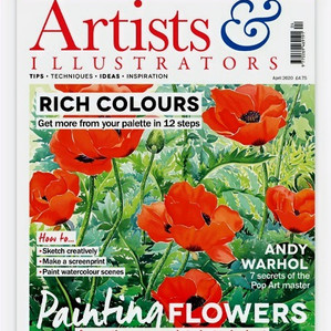 Artists & Illustrators Cover - April 2020