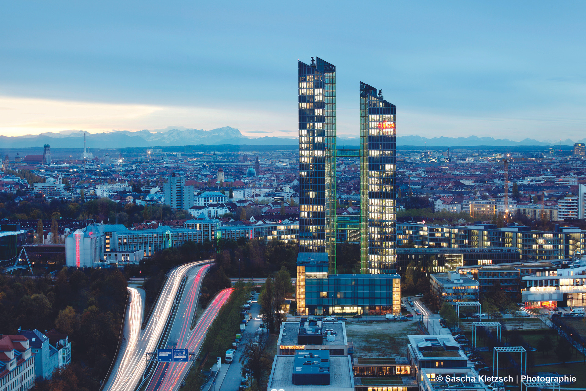 DESIGN OFFICES HIGHLIGHT TOWERS