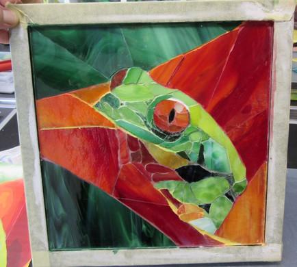 Teilnehmerwerk Frosch