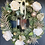 Thumbnail: Champagne Christmas artificial wreath