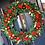 Thumbnail: Extra large bespoke Christmas wreath.