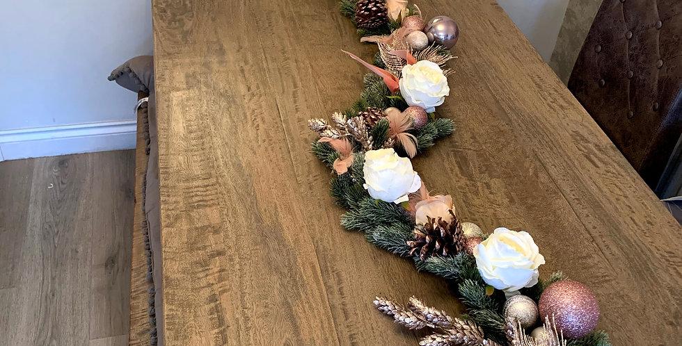 Bespoke luxury Christmas Garland