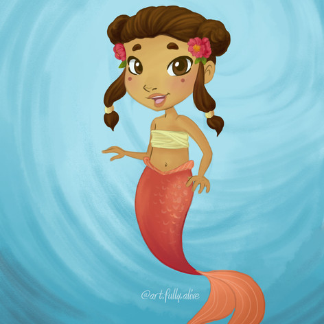 Sayori Mermaid