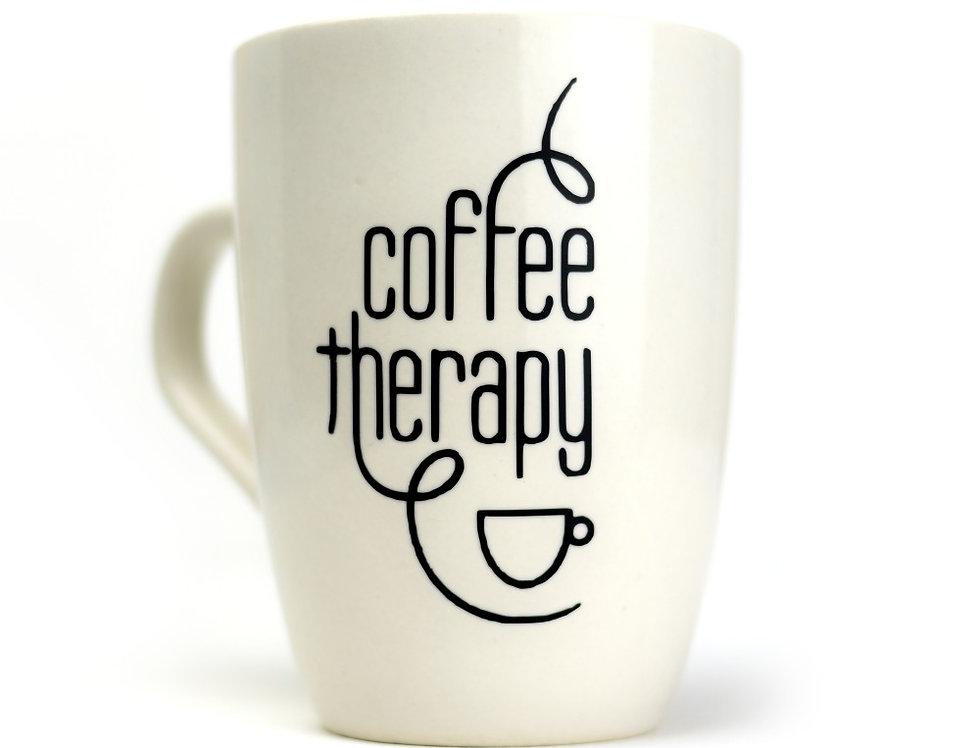 Coffee Therapy Mug