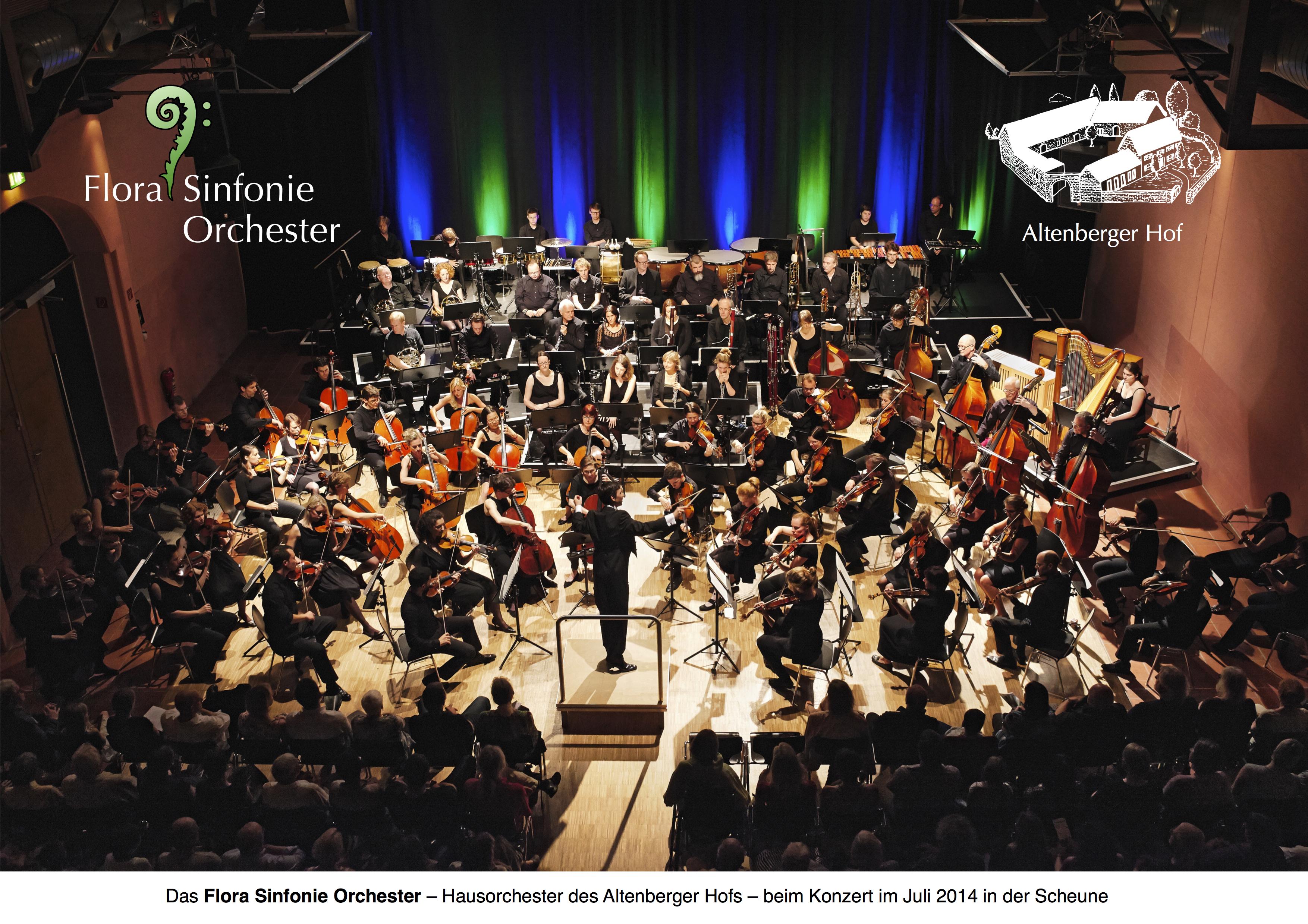 Sinfoniekonzerte Flora Sinfonie Orchester