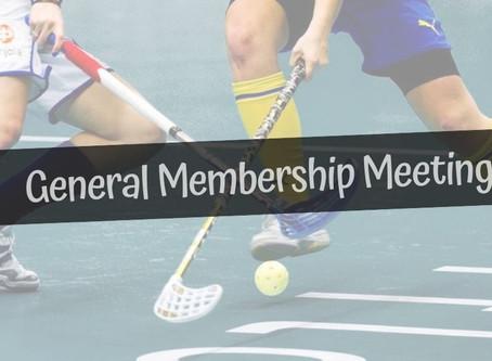 General Membership Meeting 2019